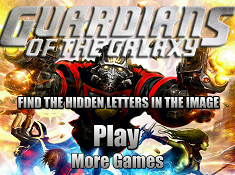 Guardians of the Galaxy Hidden Letters