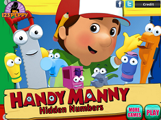 Handy Manny Hidden Numbers 2
