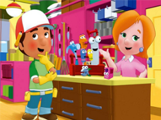 Handy Manny Set The Blocks