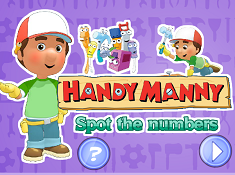 Handy Manny Spot The Numbers