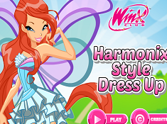 Harmonix Style Dress Up