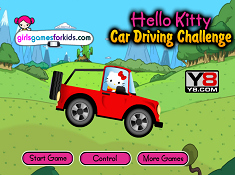 Hello Kitty Car Driving Challenge