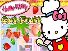 Hello Kitty Fruit Cut