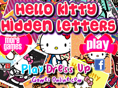 Hello Kitty Hidden Letters