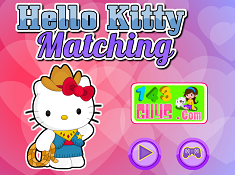 hello kitty matching games
