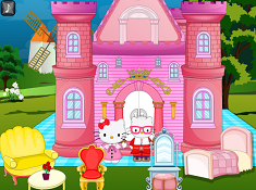 Hello Kitty Princess Castle