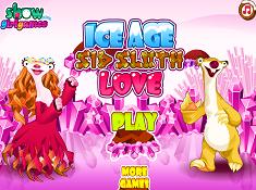 Ice Age Sid Sloth Love