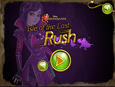 Isle of the Lost Rush