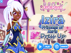 Izira Princess of Xeris Dress Up