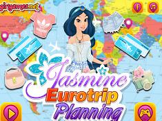 Jasmine Eurotrip Planning