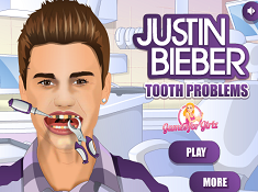 Justin Bieber Tooth Problem