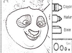 Kung Fu Panda 3 Coloring