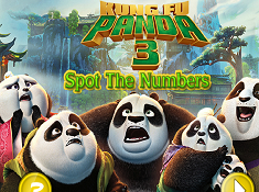 Kung Fu Panda 3 Spot the Numbers