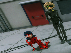 Ladybug and Cat Noir in Mission