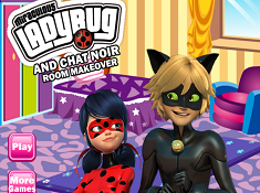 Ladybug And Cat Noir Room Makeover