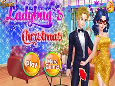 Ladybugs Christmas