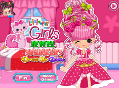 Lalaloopsy Jewel Sparkles Dress Up