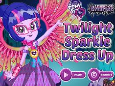 Legend of Everfree Twilight Sparkle Dress Up