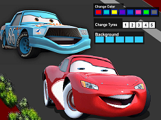 Lightning McQueen Coloring