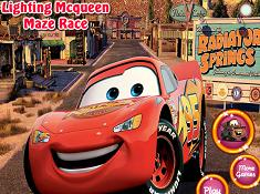 Lightning McQueen Maze Race