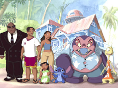 Lilo and Stitch Family