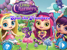 Little Charmers Spot the Numbers