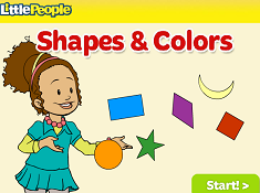 Little People Shapes and Colors