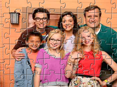 Liv and Maddie Family Puzzle
