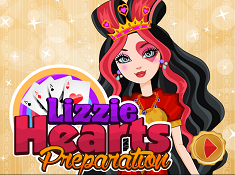 Lizzie Hearts Preparation