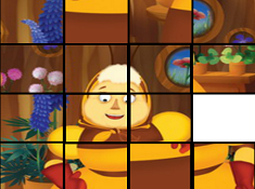 Luntik Puzzle Tiles