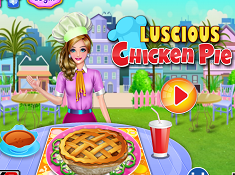 Luscious Chicken Pie