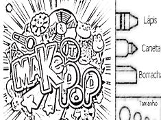 Make It Pop Coloring