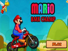 Mario BMX Champ