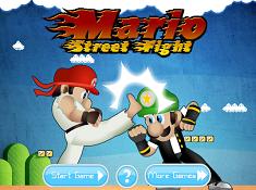 Mario Street Fight