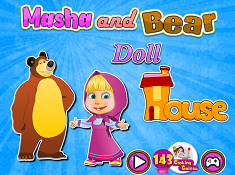 Masha And Bear Doll House