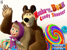 Masha And The Bear Candy Shooter