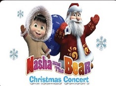 Masha and the Bear Christmas Jigsaw