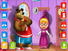 Masha And The Bear Dress Up