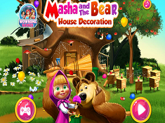 Masha and The Bear House Decoration