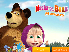 Masha and the Bear Memory