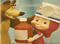 Masha and the Bear Play Doctor