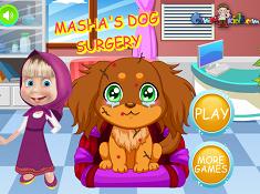 Masha Dog Surgery