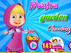 Masha Garden Cleaning