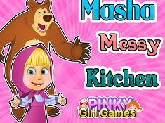 Masha Messy Kitchen