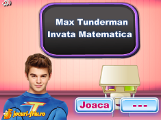 Max Thunderman Learns Maths