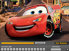 McQueen Car Keys