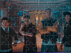 Mech-X4 Characters Puzzle