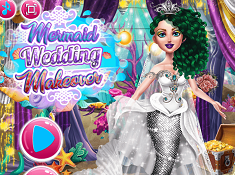 Mermaid Wedding Makeover