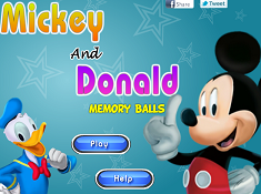 Mickey and Donald Memory Balls