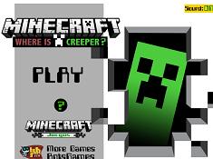 Minecraft Where is Creeper
